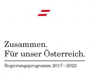 Zusammen. Für unser Österreich. Regierungsprogramm 2017 - 2022